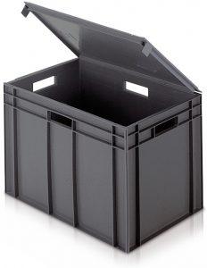 tetővel rendelkező doboz
