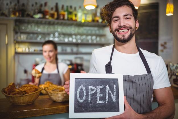 étterem nyitás